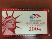 2004 US MINT SILVER PROOF SET